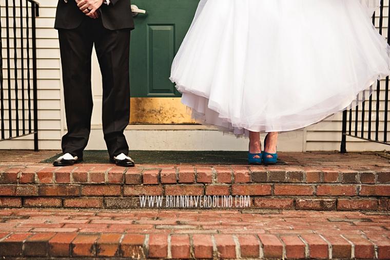 Sterling Massachusetts Wedding Photographer Chocksett Inn Pink Blush Gold Vintage Old Hollywood Wedding Portrait Bride Groom Blue Shoes Wingtip Shoes