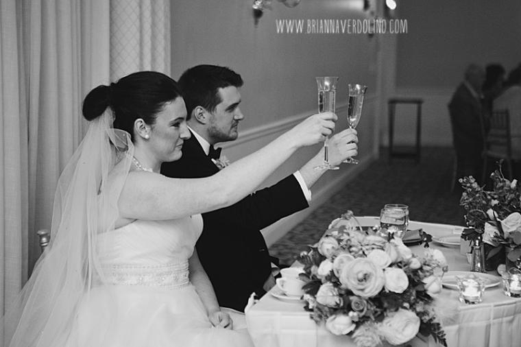 Sterling Massachusetts Wedding Photographer Chocksett Inn Pink Blush Gold Vintage Old Hollywood Wedding Toast