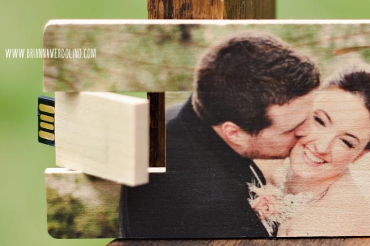 Custom wood USB drive Wedding Photographer Massachusetts