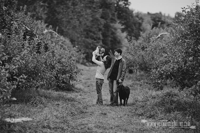 Red Apple Farm, Massachusetts, Family Storytelling Session, Brianna Verdolino